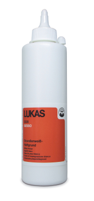 Akrylmedium Lukas Gesso White 500ml