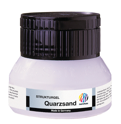 Strukturmedium Nerchau Structure  Gel Quartz Sand 250ml utgår