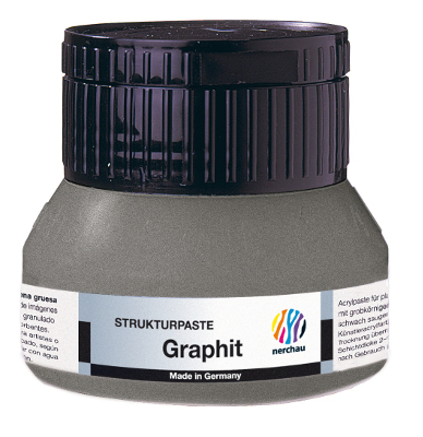 Strukturmedium Nerchau Structure Paste Graphite 250ml utgår