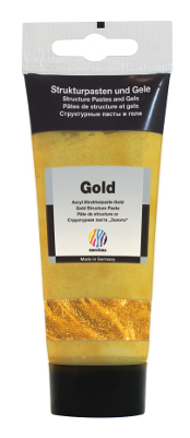 Strukturmedium Nerchau Structure Paste Gold 100ml (3F) utgår