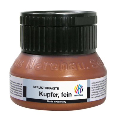 Strukturmedium Nerchau Structure Paste Copper fine 250ml utgår