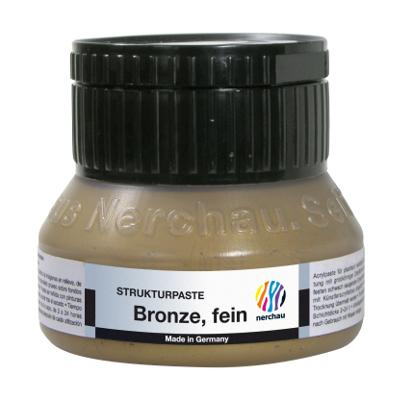 Strukturmedium Nerchau Structure Paste Bronze fine 250ml utgår