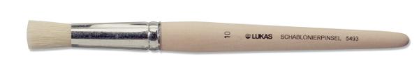 Svinborstpensel Lukas 5493 Schablon st 10 13mm (12F)