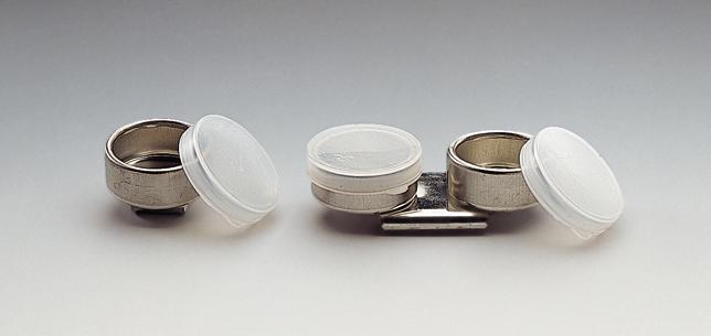 Palettkopp enkel, plastlock Lukas  (6F) Utgår