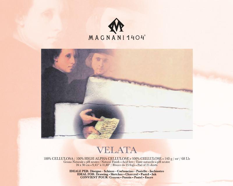 Ritblock Magnani 1404 Velata 140g 24x30cm 25ark