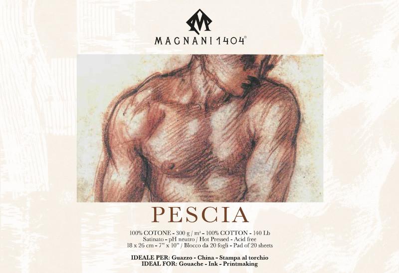 Målarblock Magnani 1404 Pescia 300g 18x26cm 20ark