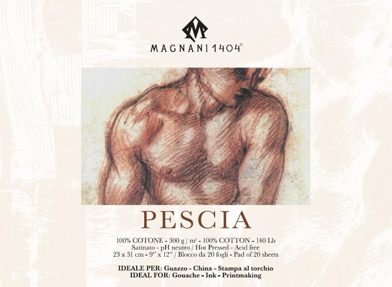 Målarblock Magnani 1404 Pescia 300g 23x31cm 20ark