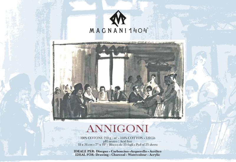 Ritblock Magnani 1404 Annigoni 250g 18x26cm 25ark
