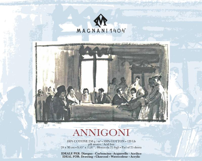 Ritblock Magnani 1404 Annigoni 250g 24x30cm 25ark