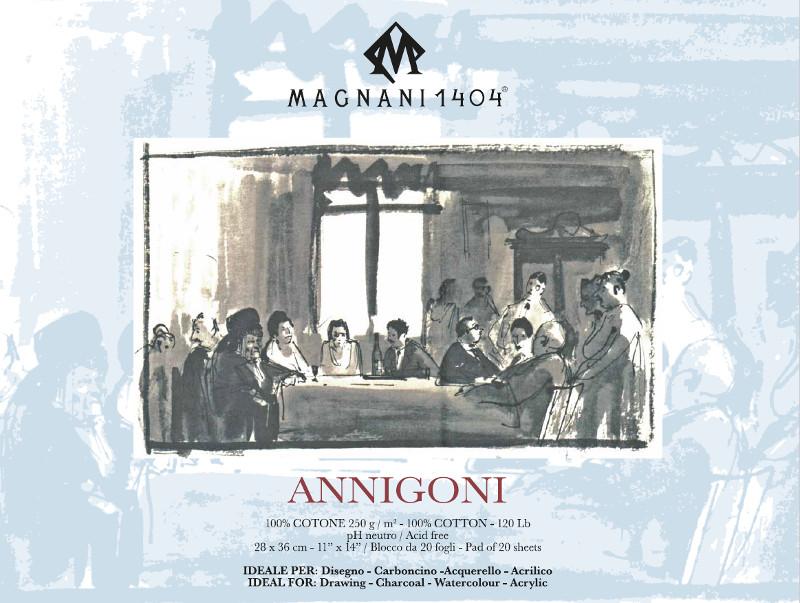Ritblock Magnani 1404 Annigoni 250g 28x36cm 25ark