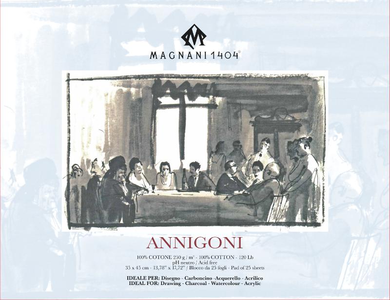 Ritblock Magnani 1404 Annigoni 250g 35x45cm 25ark