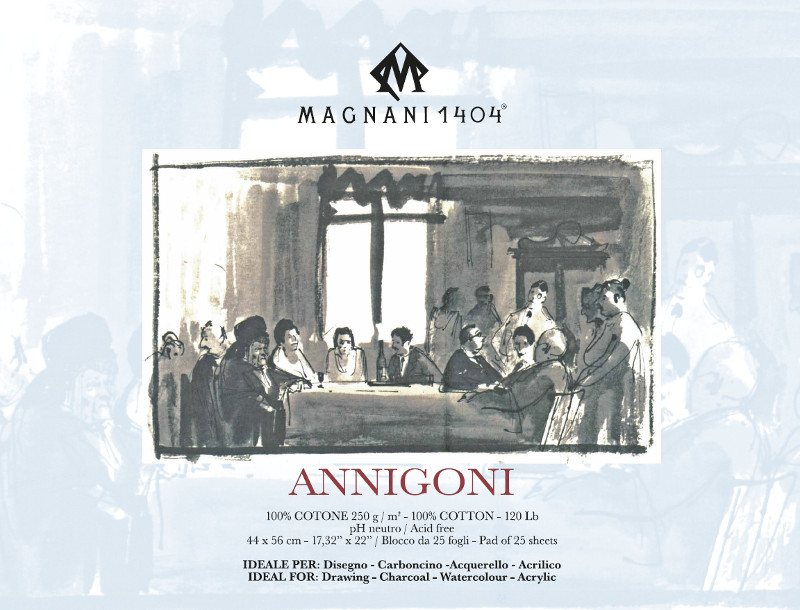 Ritblock Magnani 1404 Annigoni 250g 44x56cm 25ark