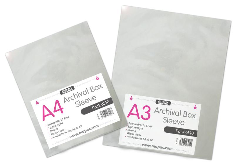 Arkiv/presentationsfickor Mapac A3 10-p