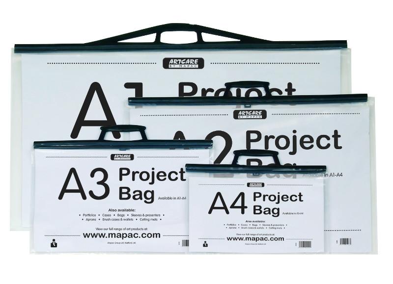 Portfölj Mapac Project Bag A3. (10F) 11053