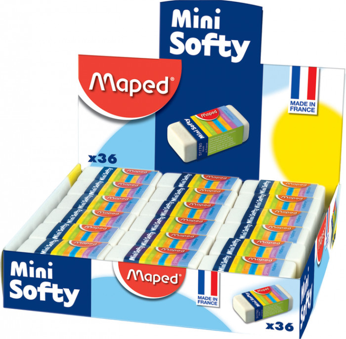 Suddigum Maped Mini Softy, Display (36F)