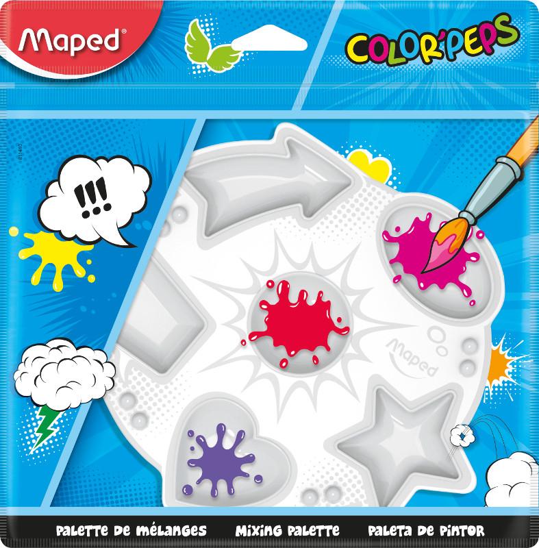 Plastpalett Maped color peps plastic palette (20F)