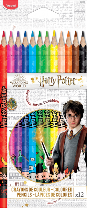 Harry Potter Color pencils x 12 (12F)