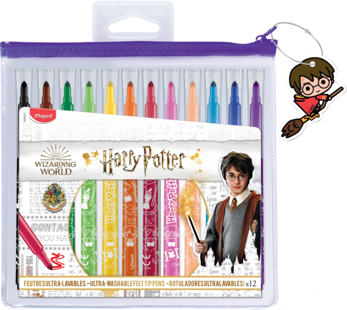 Harry Potter Felt pens x 12 (12F)
