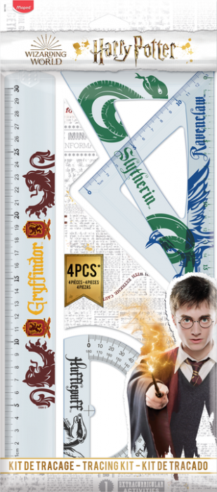 Harry Potter Drafting set 4 pcs 30 cm (24F)