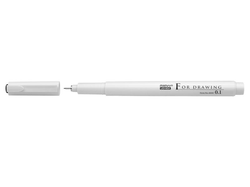 Fineliner Marvy Linjebreddspenna 0,1 mm