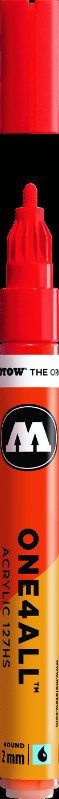 Akrylmarker Molotow 127HS 2mm traffic red  013