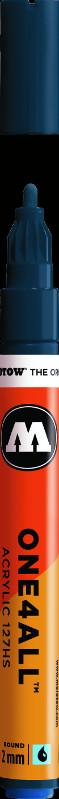 Akrylmarker Molotow 127HS 2mm petrol  027