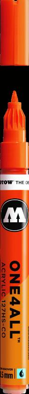 Akrylmarker Molotow 127HS-CO 1,5mm DARE orange  085