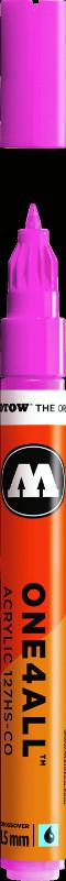 Akrylmarker Molotow 127HS-CO 1,5mm neonpink  200