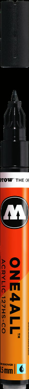 Akrylmarker Molotow 127HS-CO 1,5mm signal black 180