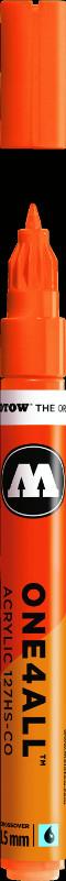 Akrylmarker Molotow 127HS-CO 1,5mm neon orange fluo. 218