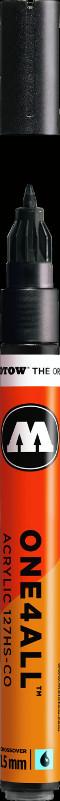 Akrylmarker Molotow 127HS-CO 1,5mm metallic black  223