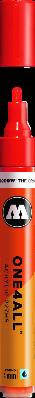 Akrylmarker Molotow 227HS 4mm traffic red 013