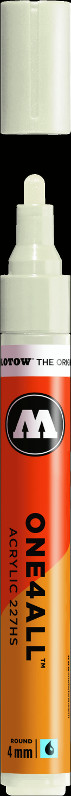 Akrylmarker Molotow 227HS 4mm  nature white 229 (6F)