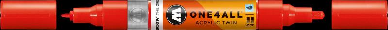Akrylmarker Molotow 1,5 + 4mm traffic red 013