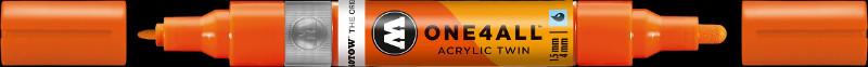 Akrylmarker Molotow 1,5 + 4mm DARE orange 085