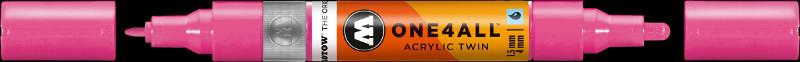 Akrylmarker Molotow 1,5 + 4mm neonpink  200