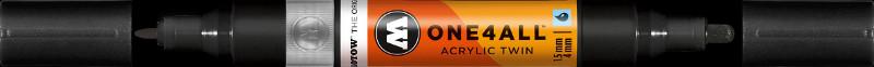 Akrylmarker Molotow 1,5 + 4mm signal black 160