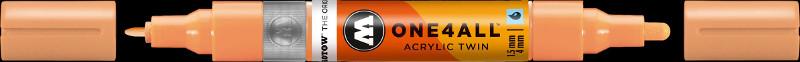 Akrylmarker Molotow 1,5 + 4mm peach pastel 117