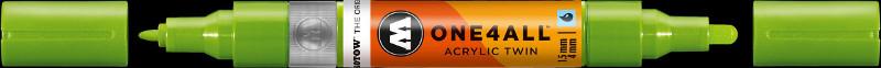 Akrylmarker Molotow 1,5 + 4mm grashopper  221