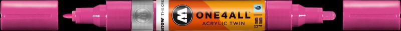 Akrylmarker Molotow 1,5 + 4mm magenta 232