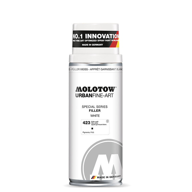 Sprayfärg Molotow Akryl UrbanFineArt 400ml Filler White 423 (4F)