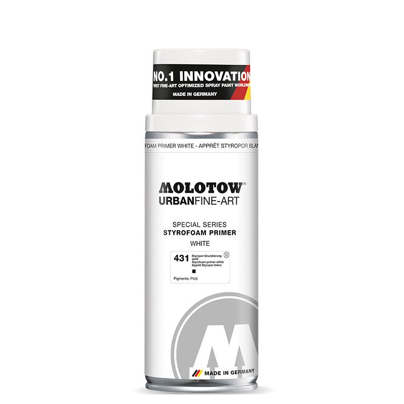 Sprayfärg Molotow Akryl UrbanFineArt 400ml Styrofoam primer 431 (4F)