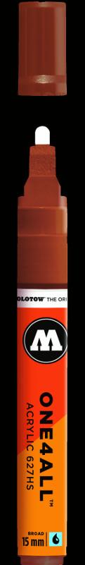 Akrylmarker Molotow 627HS 15mm hazelnut brown 092