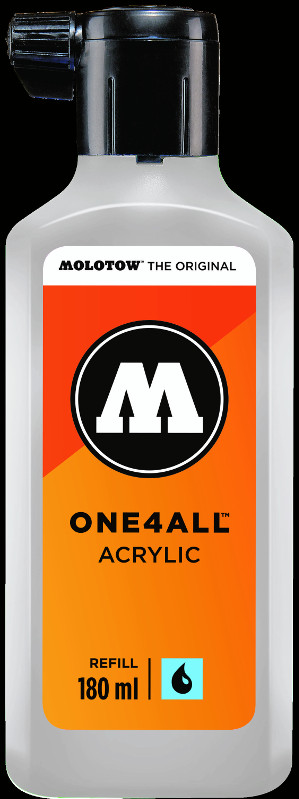 Flaska Tom Molotow ONE4ALL 180ml empty mixing bottle