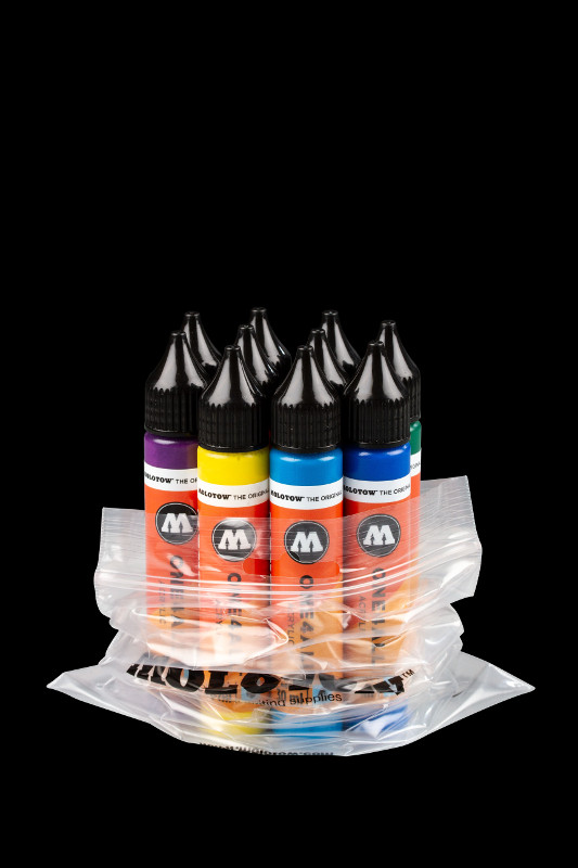 Akrylfärg Molotow ONE4ALL 10x30ml Starter-Kit
