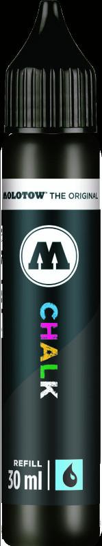 Chalk Marker Refill Molotow 30ml black 004 (6F)