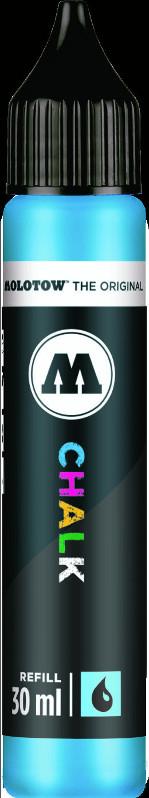 Chalk Marker Refill Molotow 30ml neon blue  009 (6F)