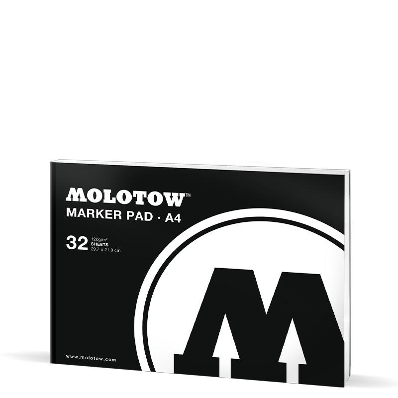 Markerblock Molotow A4 32ark 120g