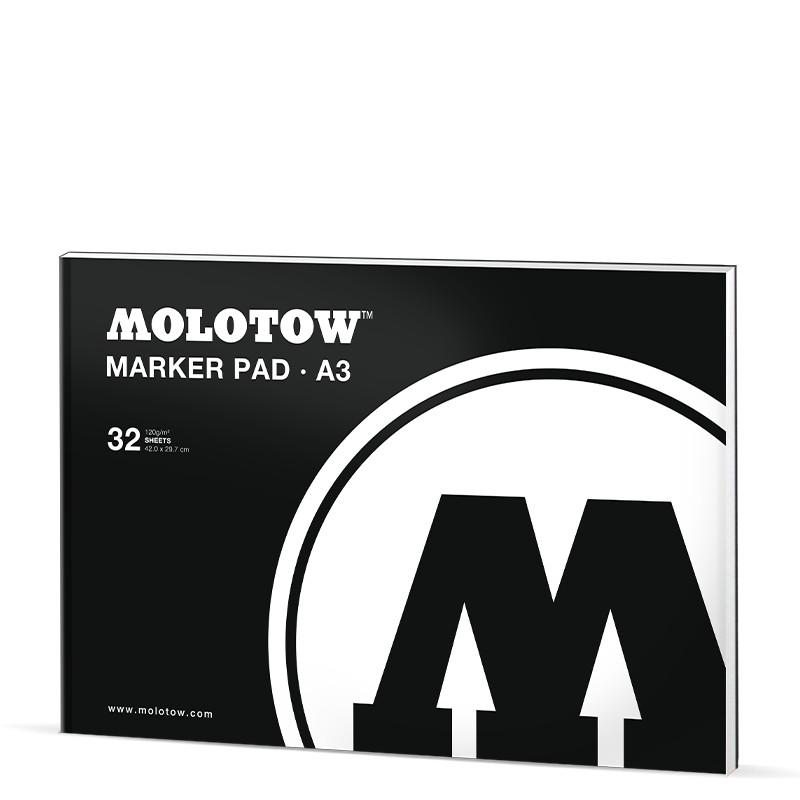 Markerblock Molotow A3 32ark 120g
