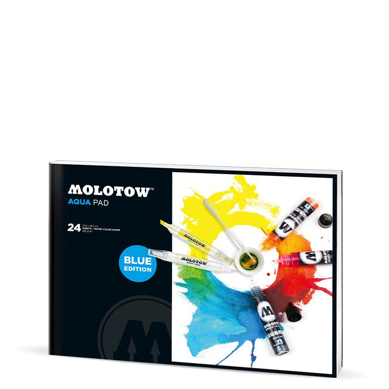 Akvarellblock Molotow Aqua Pad 270x195mm